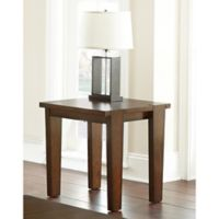 Steve Silver Co. Vince End Table in Brown Cherry