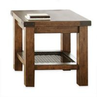 Steve Silver Co. Hailee End Table in Oak