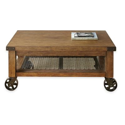 oak living room tables. Hailee Cocktail Table in Oak Buy Living Room Tables from Bed Bath  Beyond
