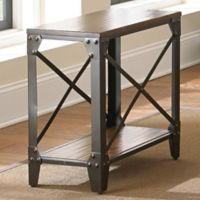 Steve Silver Co. Winston Chairside End Table in Cherry