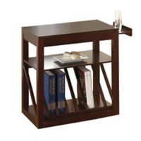 Steve Silver Co. Jameson Chairside End Table in Cherry