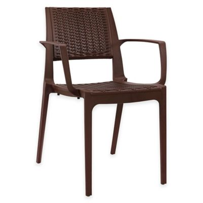 Perfect Modway Astute Dining Arm Chair In Coffee