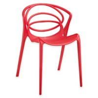 Modway Locus Dining Side Chair in Red