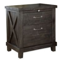 SRA Home Products Yosemite Solid Wood Nightstand in Latte