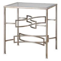 Uttermost Eilinora End Table in Silver