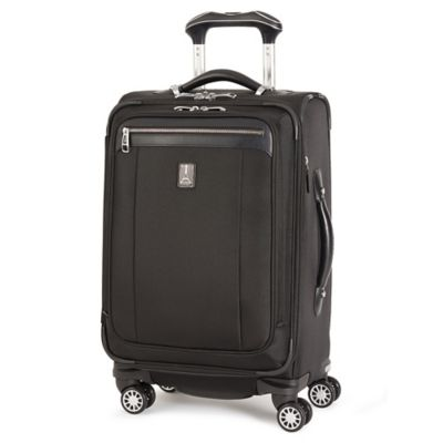 travelpro platinum magna 2 20inch expandable business plus spinner in black - Travel Pro Luggage