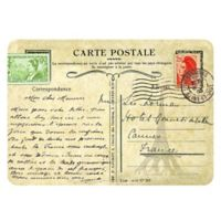 The Softer Side by Weather Guard™ 18-Inch x 27-Inch Parisian Postcard Kitchen Mat