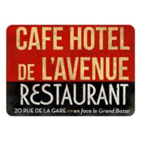 The Softer Side by Weather Guard™ 18-Inch x 27-Inch Parisian Restaurant Kitchen Mat