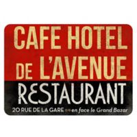 The Softer Side by Weather Guard™ 23-Inch x 36-Inch Parisian Restaurant Kitchen Mat