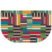The Softer Side by Weather Guard™ 24-Inch x 40-Inch Patchwork Stripe Kitchen Mat