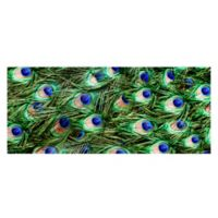 The Softer Side by Weather Guard™ 25-inch x 60-Inch Peacock Plume Kitchen Mat