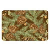 The Softer Side by Weather Guard™ 18-Inch x 27-Inch Pine Bough Kitchen Mat