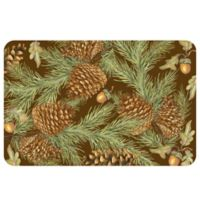 The Softer Side by Weather Guard™ 23-Inch x 36-Inch Pine Bough Kitchen Mat