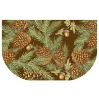 The Softer Side by Weather Guard™ 24-Inch x 40-Inch Pine Bough Kitchen Mat