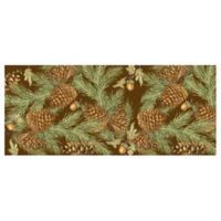 The Softer Side by Weather Guard™ 25-Inch x 60-Inch Pine Bough Kitchen Mat
