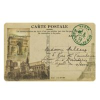 The Softer Side by Weather Guard™ 23-Inch x 36-Inch Paris Postcard Kitchen Mat