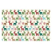 The Softer Side by Weather Guard™ 18-Inch x 27-Inch Reindeer Kitchen Mat