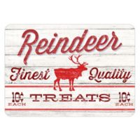 The Softer Side by Weather Guard™ 18-Inch x 27-Inch Reindeer Treats Kitchen Mat