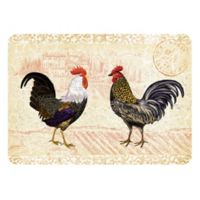 The Softer Side by Weather Guard™ 23-Inch x 26-Inch Rooster Provence Kitchen Mat
