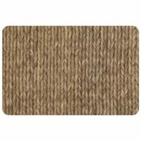 The Softer Side by Weather Guard™ 23-Inch x 36-Inch Rope Weave Kitchen Mat