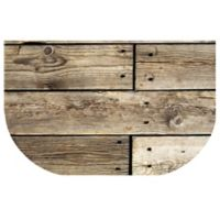 The Softer Side by Weather Guard™ 24-Inch x 40-Inch Rustic Wood Kitchen Mat