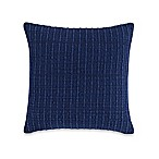 Kenneth Cole New York Fleur Textured Stripe Throw Pillow in Blue