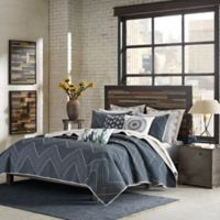 INK + IVY Pomona King/California King Coverlet Set in Navy