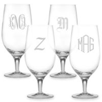Susquehanna Glass Iced Beverage Glasses (Set of 4)