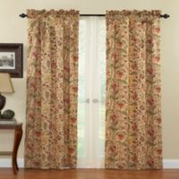 Waverly® Imperial Dress 84-Inch Rod Pocket Window Curtain Panel in Antique