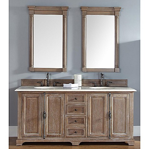 Buy James Martin Furniture Providence Double Vanity With Galala Beige Marble Top In Driftwood