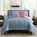 Venice Beach 5-Piece Full/Queen Comforter Set