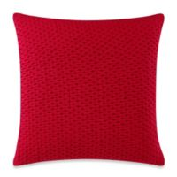 Ticker Dots Chili Pepper 20-Inch x 20-Inch Throw Pillow
