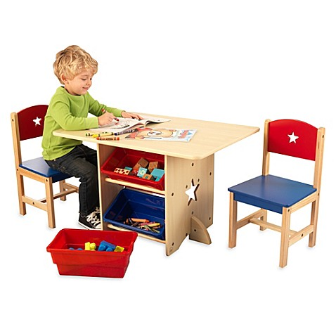 KidKraft® Star Table and Two Chair Set - buybuy BABY