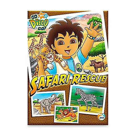 Dvd go diego go in safari rescue bed bath beyond for Go diego go bedding
