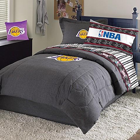 Nba Los Angeles Lakers Comforter Set Bed Bath Amp Beyond
