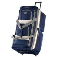 Olympia® 22-Inch 8-Pocket Rolling Duffle in Navy