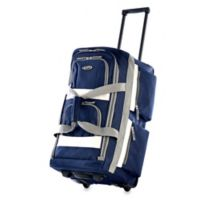 Olympia® 26-Inch 8-Pocket Rolling Duffle in Navy