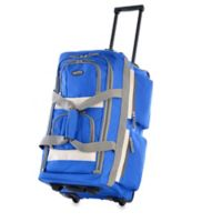 Olympia® 26-Inch 8-Pocket Rolling Duffle in Royal Blue