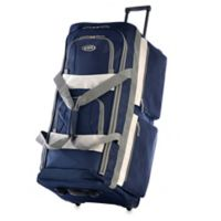 Olympia® 29-Inch 8-Pocket Rolling Duffle in Navy