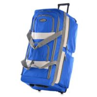 Olympia® 29-Inch 8-Pocket Rolling Duffle in Royal Blue