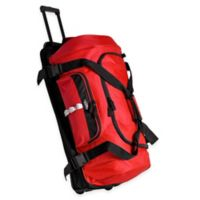 Olympia® 30-Inch Drop Bottom Rolling Duffle in Red
