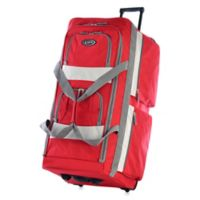 Olympia® 33-Inch 8-Pocket Rolling Duffle in Red