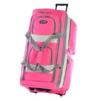 Olympia® 33-Inch 8-Pocket Rolling Duffle in Hot Pink