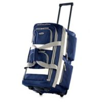 Olympia® 33-Inch 8-Pocket Rolling Duffle in Navy
