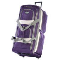 Olympia® 33-Inch 8-Pocket Rolling Duffle in Dark Lavender