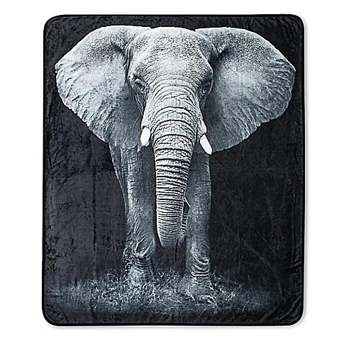 Vcny Real Elephant Throw Blanket Bed Bath Amp Beyond