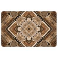 The Softer Side by Weather Guard™ 18-Inch x 27-Inch Rustic Wood Scope Kitchen Mat