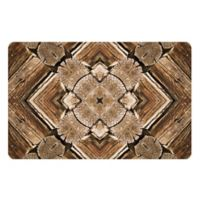 The Softer Side by Weather Guard™ 23-Inch x 36-Inch Rustic Wood Scope Kitchen Mat