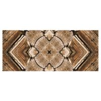 The Softer Side by Weather Guard™ 25-Inch x 60-Inch Rustic Wood Scope Kitchen Mat