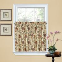 Waverly® Felicite 36-Inch Window Curtain Tier Pair in Creme